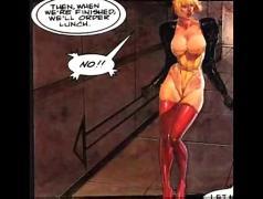 Huge breast lesbian bondage