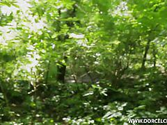 Lola reve - anal in forest