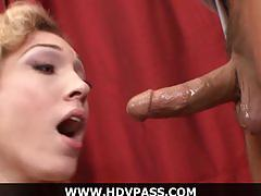 Sexy blonde housewife lily labeau hd blowjob and doggystyle hardcore