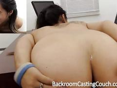Tiny asian assfuck and creampie