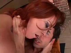 Hot redhead anal