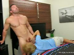 Flirty anal boning encounter with brock landon and evan stone