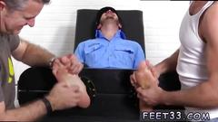 Gay male hairy feet videos first time officer christian wilde tickled