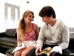 Livegonzo jessie andrews & julia ann threesome
