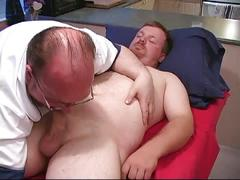 Hairy dad for another cock sucking fatty