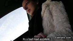 Fake taxi driver fucks a redhead amateur with great desire
