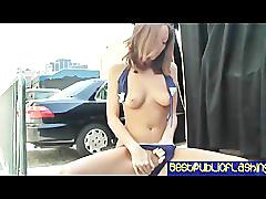 Scarlett fay fiery red public flashing pt. 2