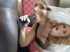 German milf gets fucked by big black cock