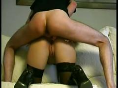 Hot milf fucked in her tight ass