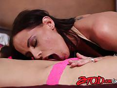 Brandy aniston eating her friends hot pussy