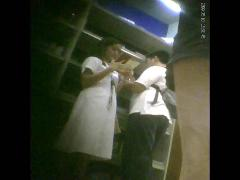 Boso voyeur teen nursing student upskirt at bookstore