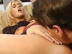 Young anal loving blonde