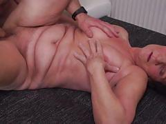 granny, big ass, saggy tits, missionary, cowgirl, riding cock, short haired, boobs groping, mature nl, annamaria