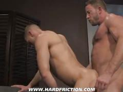 Shay michaels and j.r. matthews from hard friction