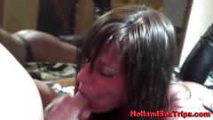Dutch hooker adores to be fucked like a slut