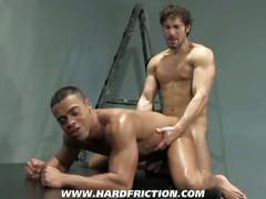 Hard friction fuck with micah and alexander