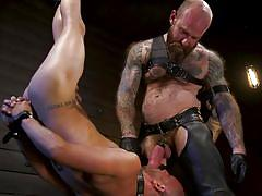 Intense bdsm session