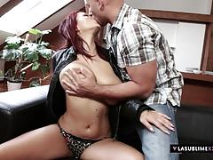 Lasublimexxx busty dominno gets her pussy banged