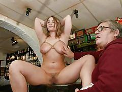 Hadley viscara was fucked and humiliated in public
