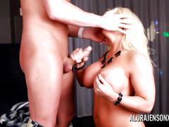 Alura jenson hot blowjob and anal fuck