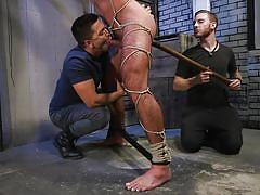 Michael roman enjoys bdsm and rough anal penetration
