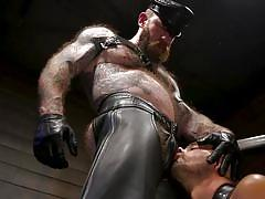 gays, sex slave, tattooed, bdsm, whipping, handjob, bearded guy, hairy chest, domination, cock sucking, chained, bound gods, kink men, chance summerlin, jack dixon