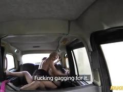 Fake taxi sex toys critic takes a spanking