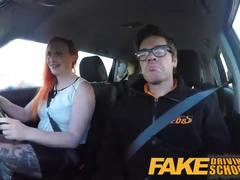 redhead, funny, ginger, instructor, car-sex, fds, sex-in-car, britishs, car-porn, driving-school, driving-lesson