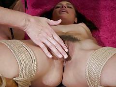 milf, bdsm, lesbians, big tits, babe, torture, bound, dildo, vibrator, lezdom, rope bondage, whipped ass, kink, julia ann, avi love