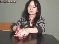 handjob, cumshots, multiple, femdom, maya, orgasms, ruined, cockboard
