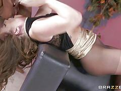 Maddy oreilly dares to take mighty bbc deep down her throat