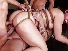 Double penetration for kimber woods