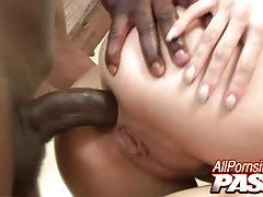 Big black dick sharing lellou and lea mage