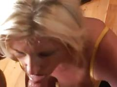 An afternoon mature sucking