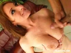 "Romantic ""cum on my big beautiful tits"" compilation"