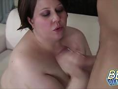 Titty fucking bbw jellibean gets it hot doggystyle