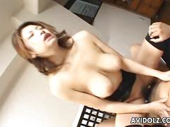 stockings, hardcore, hot, sexy, blowjob, brunette, rough, busty, asian, orgasm, japanese, naughty, japan, big-tits, kinky, jav, uncensored, avidol