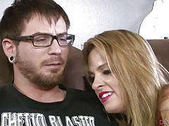 deepthroat, blonde mature, couch fuck, red dress, mother in law, devils film, fame digital, dane cross, amanda blow