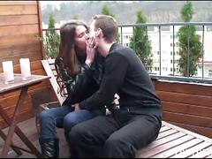 Sexy teen couples loves fucking hard