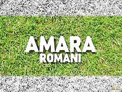 Amara romani wants to get her big wett butt fucked hard