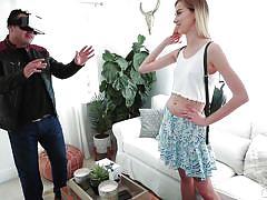 Haley reed cheats on her boyfriend and sucks my huge dick!