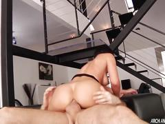Jada stevens ass rides cock for hard anal sex