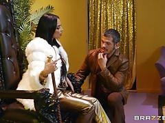 Beautiful french goddess makes her man cum with her mouth