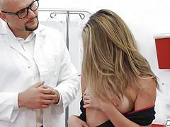 blonde, babe, big cock, doctor, blowjob, pussy licking, fingering, doctors office, i know that girl, mofos network, jmac, athena farris