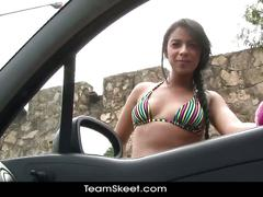 Hd amateur latina teen susana pino facialized