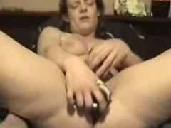 3 toys in her pussy