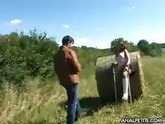 An anal fuck with simona
