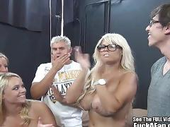 Bridgette b and blondie friends fuck a fan!