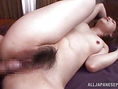 milf, threesome, creampie, asian, blowjob, brunette, from behind, censored, hairy bush, o creampies, all japanese pass, azusa itagaki