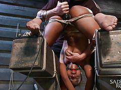How to torture ebony whores